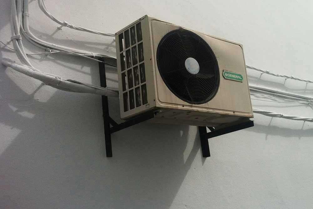 aircondition malaga spansk hus