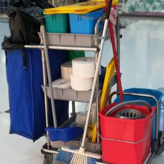 erhvervs rengøring